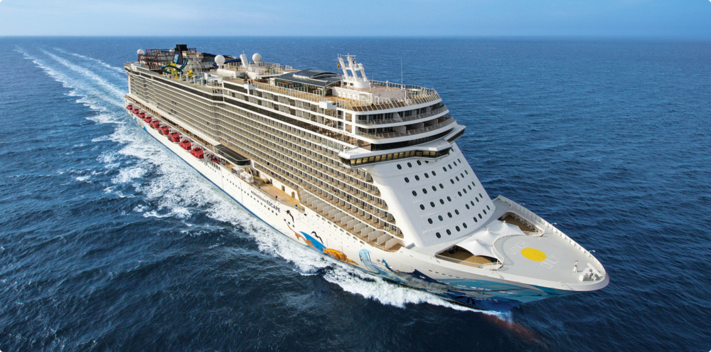 Plavby lodí Norwegian Escape